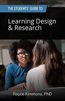 Book cover for The Students' Guide to Learning Design and Research
