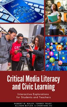 Book cover for Critical Media Literacy and Civic Learning
