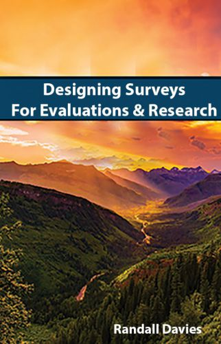 Cover for Designing Surveys for Evaluations and Research