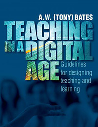 Book cover for Teaching in a Digital Age