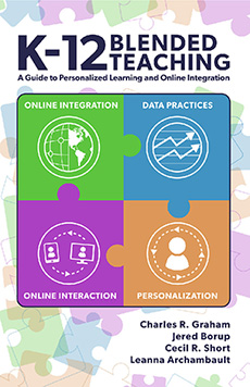 Book cover for K-12 Blended Teaching