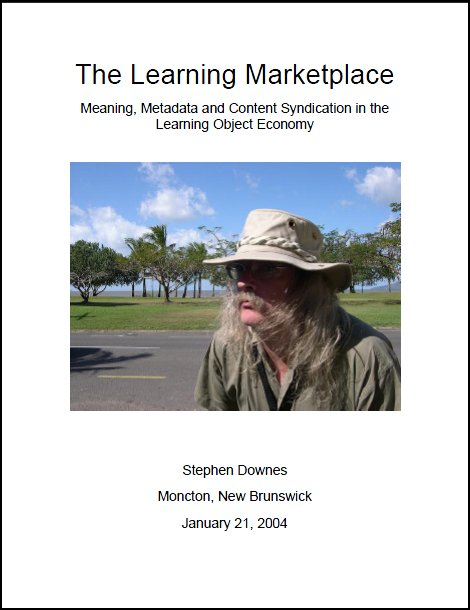 Book cover for The Learning Marketplace