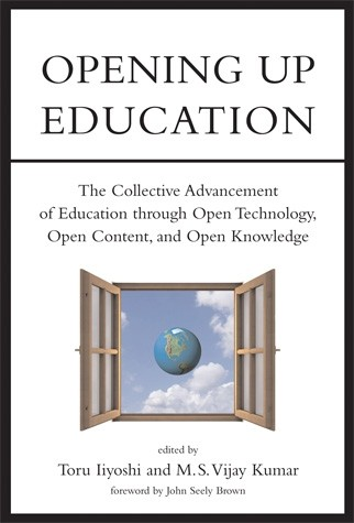Book cover for Opening Up Education