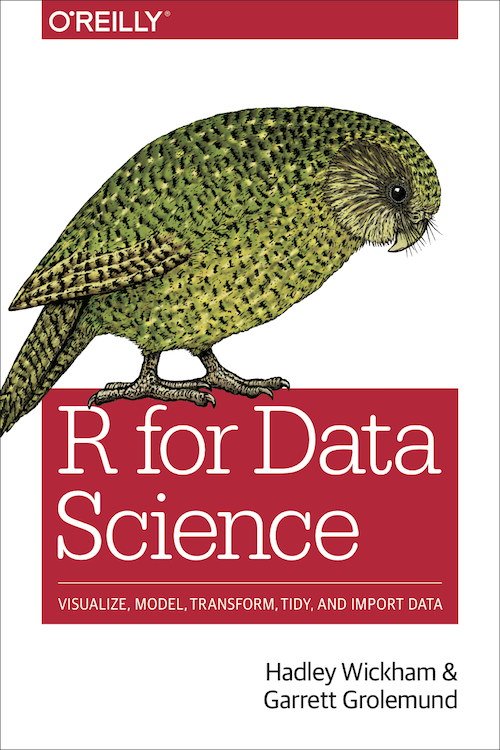 Book cover for R for Data Science