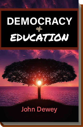 Cover for Democracy and Education