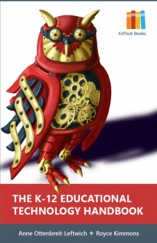 Book cover for The K-12 Educational Technology Handbook