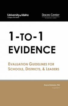 Book cover for 1-to-1 Evidence