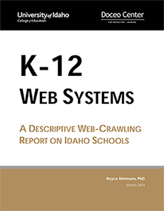 Book cover for K-12 Web Systems