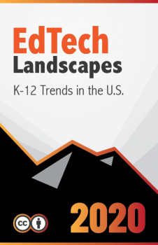 Book cover for EdTech Landscapes 2020