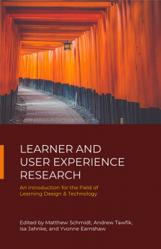 Book cover for Learner and User Experience Research