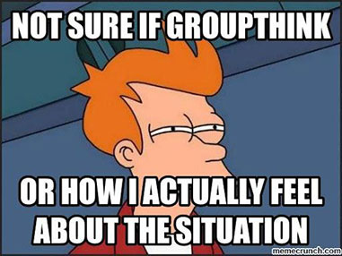 Meme: Not sure if Groupthink or how I actually feel about the situation.