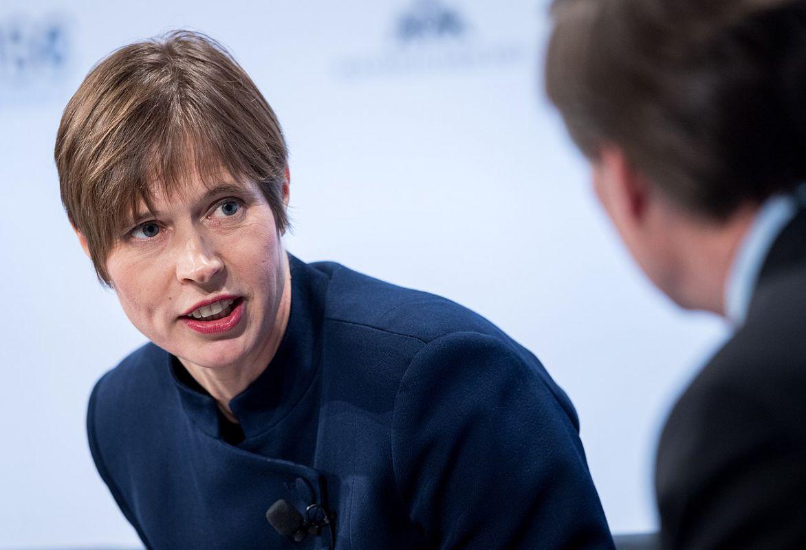 Estonia President Kersti Kaljulaid
