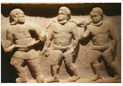 Roman Collard Slaves