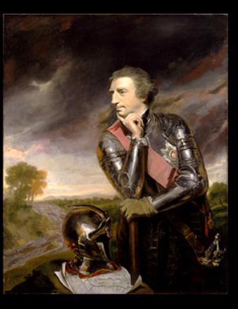 Portrait of Jeffrey Amherst