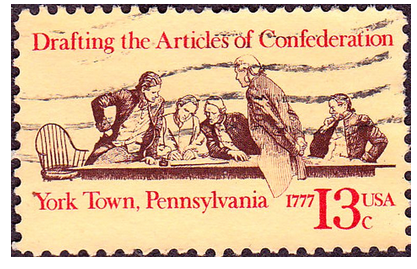 Stamp, Articles of Confederation
