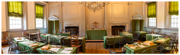 The Assembly Room of Independence Hall
