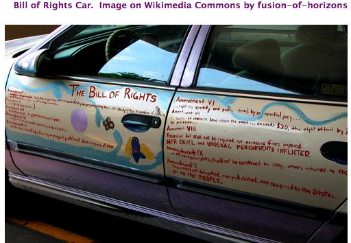Bill of Rights Car