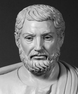 Bust of Cleisthenes, the father of Greek democracy.