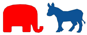 Icon of US Political Parties