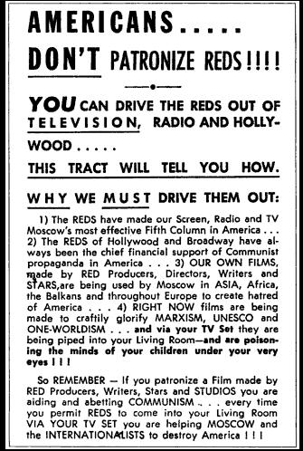 Example of AntiCommunist Literature in the 1950s