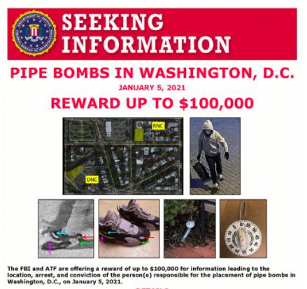 Pipe Bomb in DC