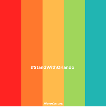 Symbol for the Stand with Orlando Campaign