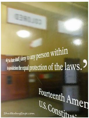 14th Amendment Sign