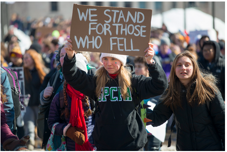 Minnesota High School Students Walked Out