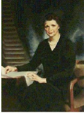 Portrait of Frances Perkins