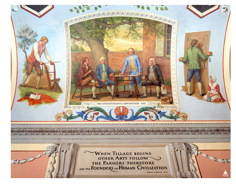 Mural of the Constitutional Convention