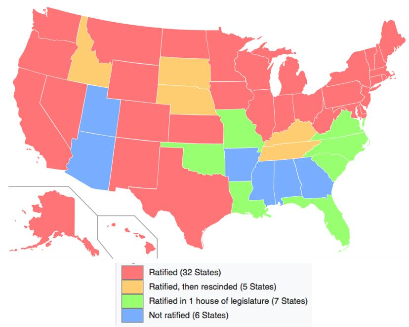 Equal Rights Map
