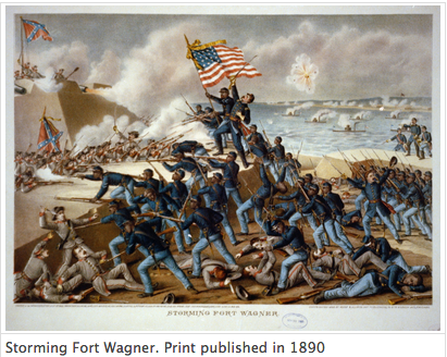 Storming Fort Wagner