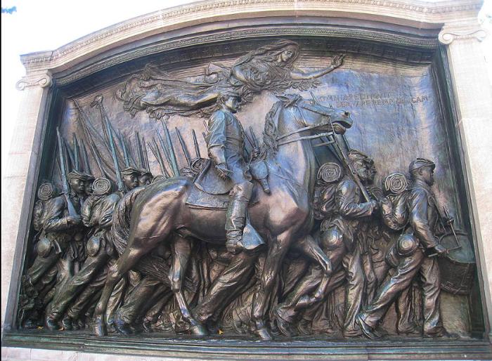 Robert Gould Shaw Memorial