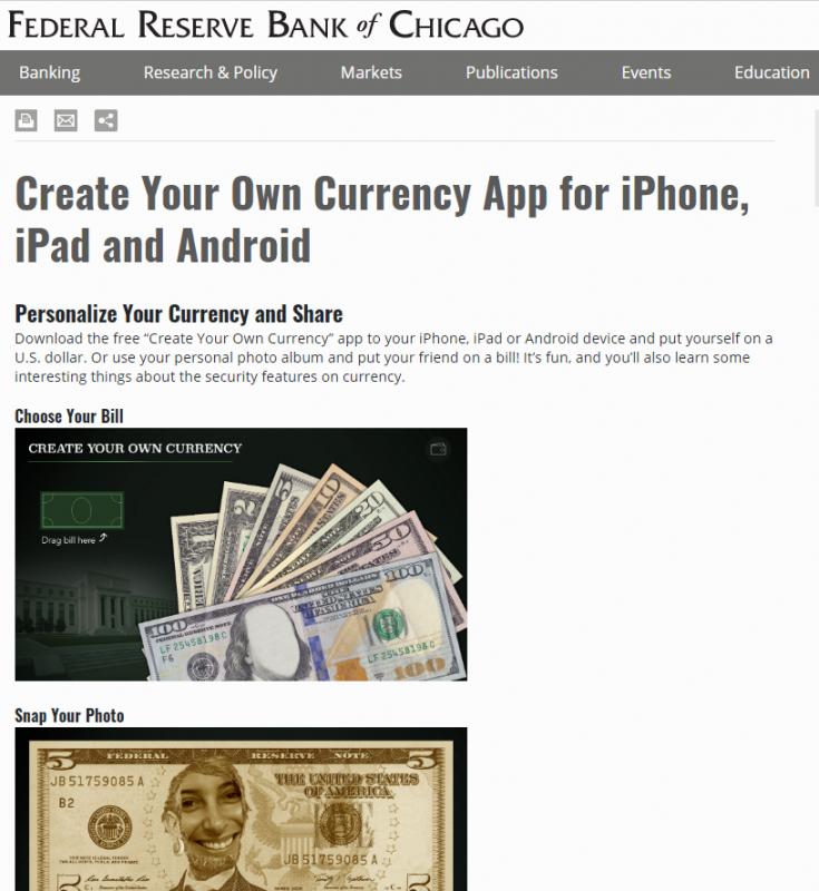 federal reserves app screenshot