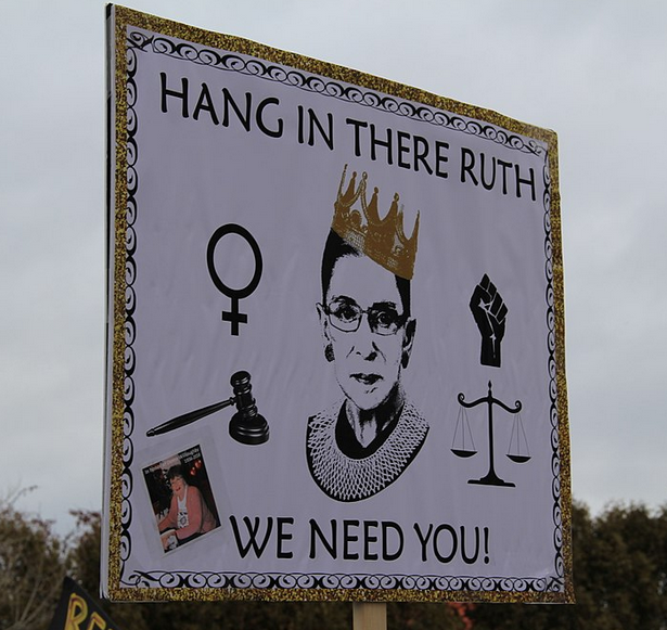 Sign for Ruth