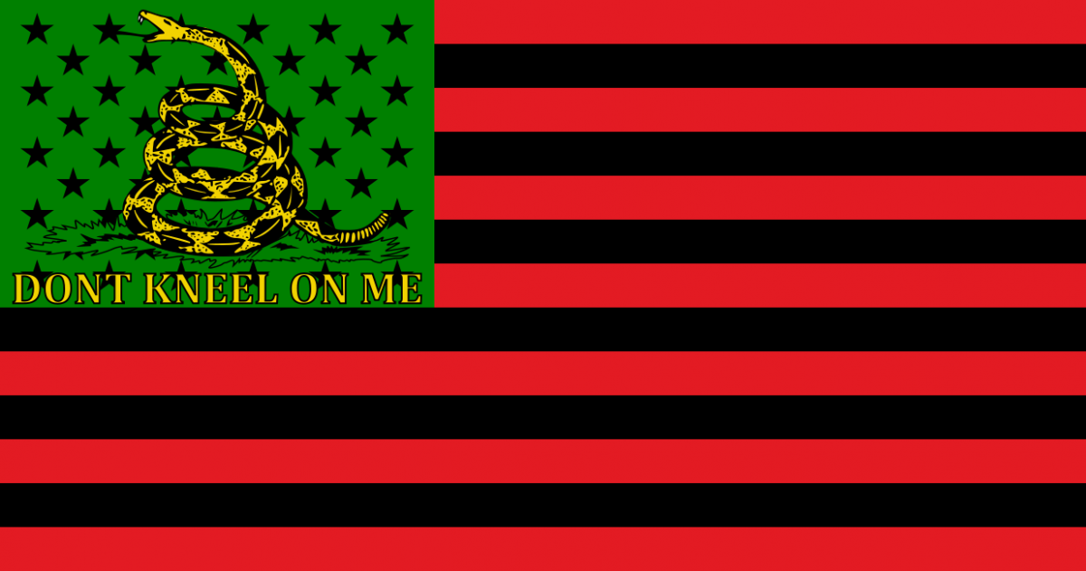 DONT_KNEEL_ON_ME Flag