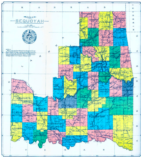 Sequoyah map
