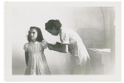 Nurse Immunizing Girl