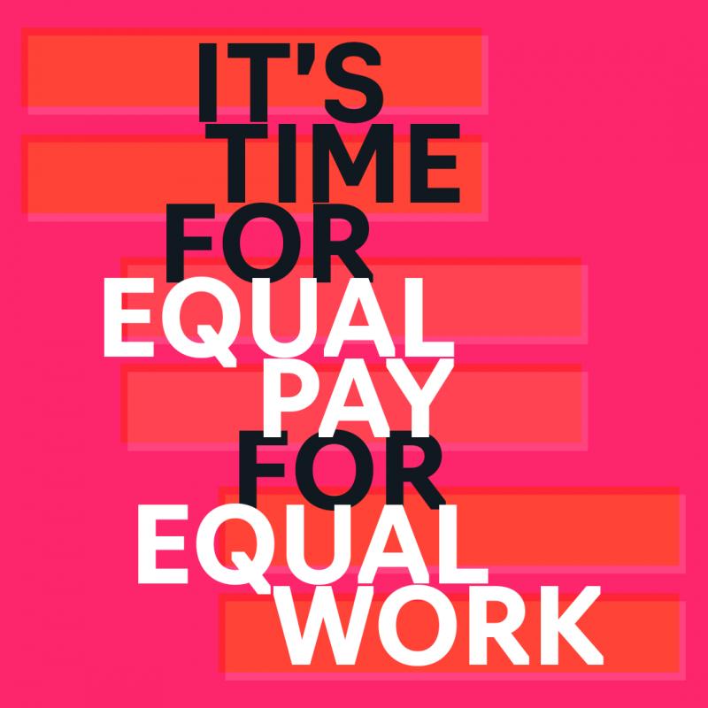 Equal Work Flyer