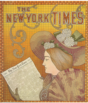 Detail of a New York Times
