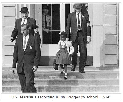 US Marshal Escorting Ruby Bridges