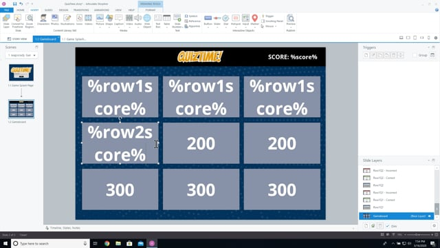 Video on how to create variables.