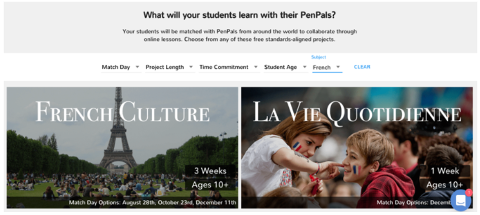 Snapshot of PenPals