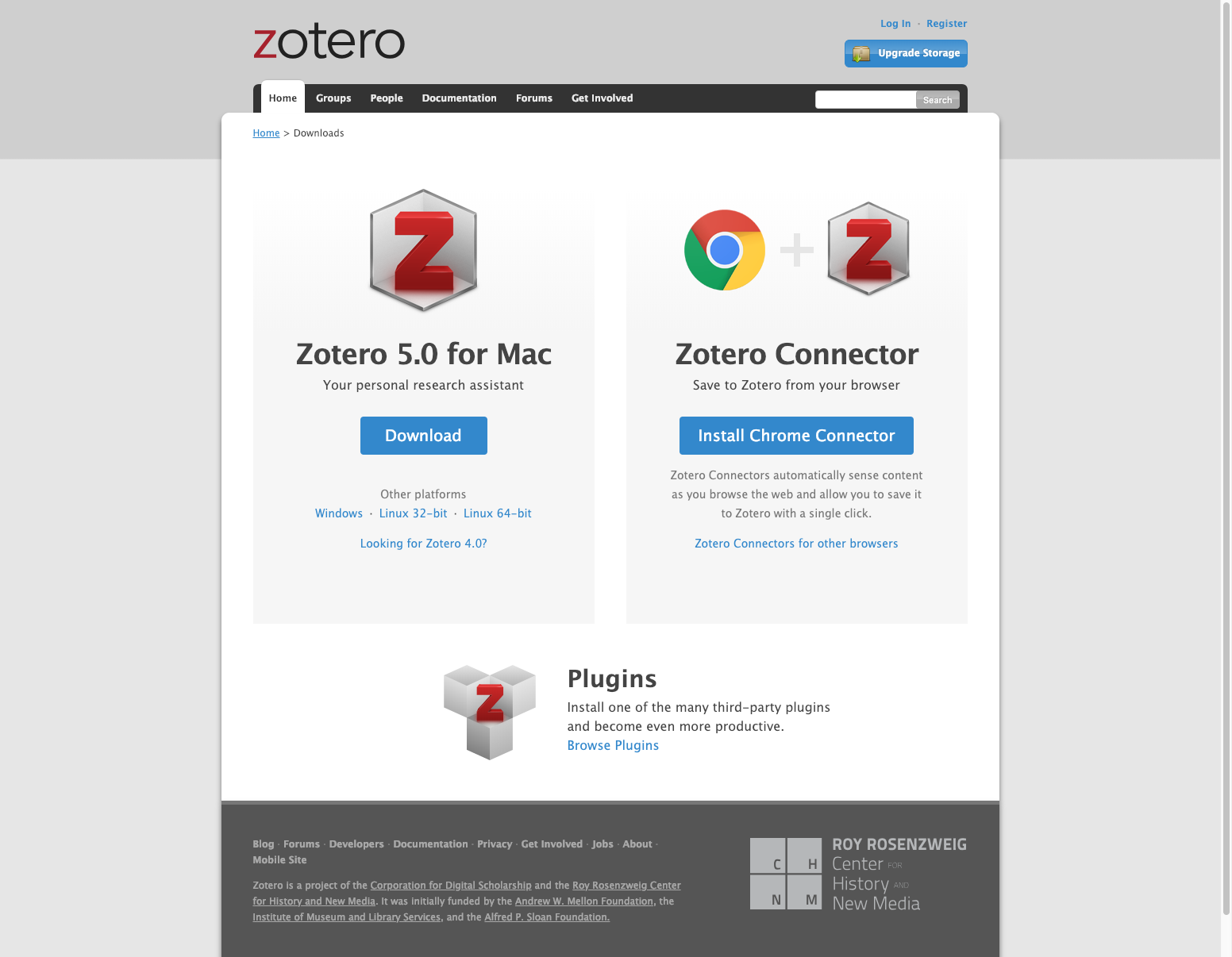 Download and install Zotero