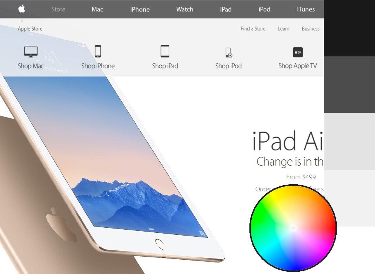 Apple webpage
