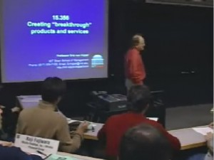 Photo of MIT lecture